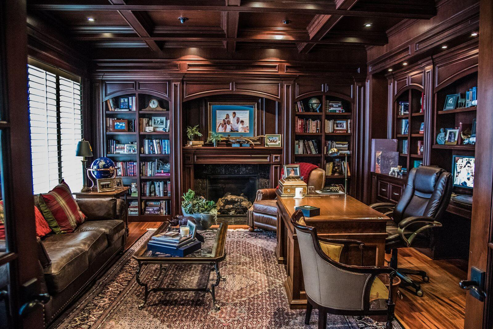 Bluetree Turns Greatrooms Into Really Great Rooms Our Team Uses Built In Furniture Pieces Shelving Library Panels And Other Ways To Hide All The Modern