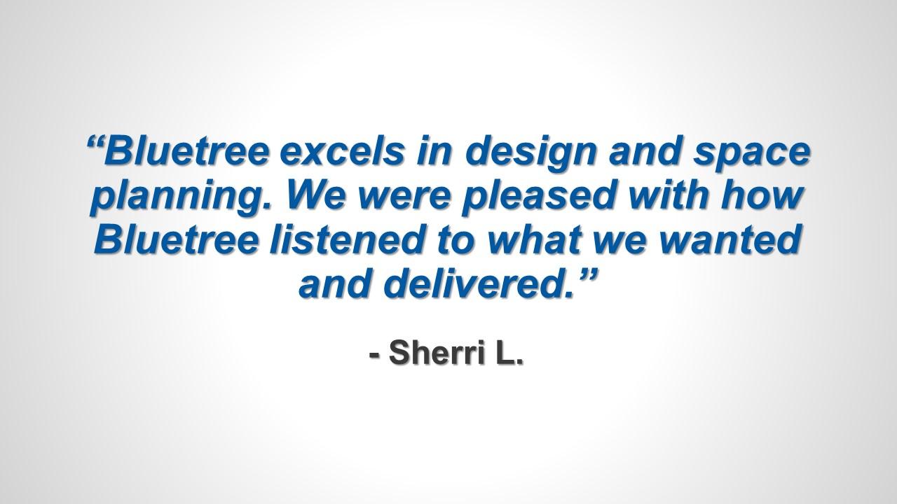 Testimonial - Sherri L